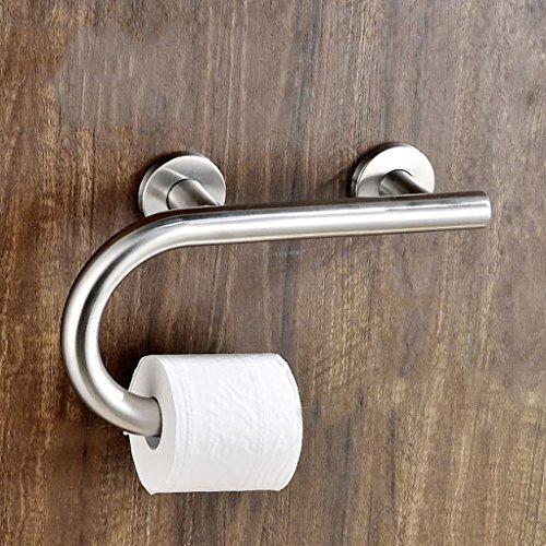 Lxn Acero Inoxidable Barandillas Inodoro Inodoro WC Baño Bañera Hombre Antiguo Caja Fuerte Barandillas Pared Antideslizante...