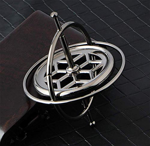aiyuyu Magical Precision Gyroscope Kill Time Metal Anti Gravity Spinning Top Balance Toy Exquisite Gift