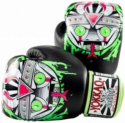 Yokkao Boxing ボクシンググローブ APEX Snake 黒  14oz