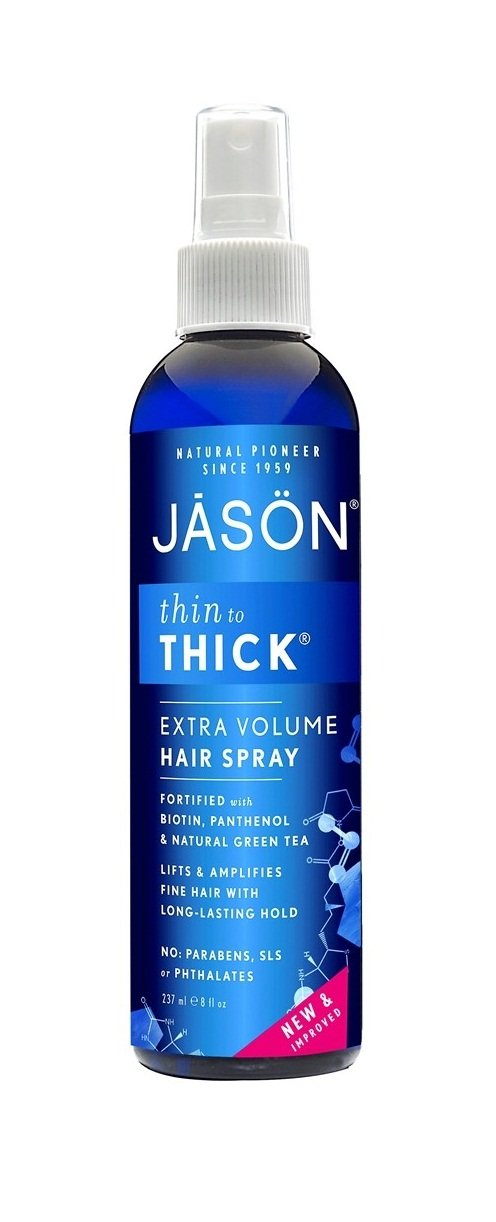 Jason Thin-to-Thick Extra Volume Hair Spray, 8 Ounce (Pack of 3) by Jason Natural