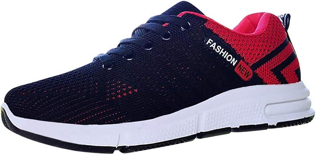 Zapatillas Mujer Ocio Zapatos Deportivos de Malla al Aire Libre ...