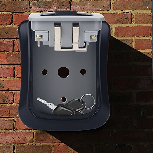 4 Digit Coded Lock Box for Cash, Safe Box for Home, Safe Storage by Eboxer (Image #3)