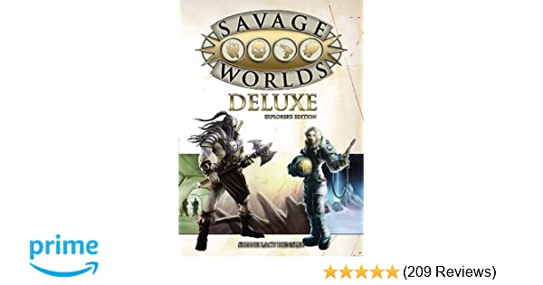 Amazon Com Savage Worlds Deluxe Explorer S Edition
