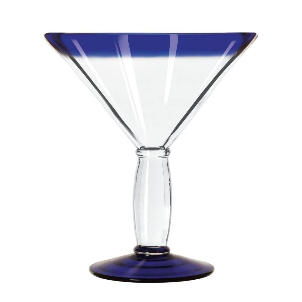Libbey Aruba Blue Cocktail Glass, 15 Ounce -- 12 per case.