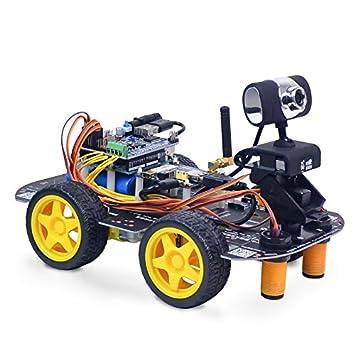 Generic Xiao R Diy Smart Robot Wifi Video Control Car Kit