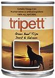 Tripett Beef Tripe, Duck and Salmon – 12 x 13 oz, My Pet Supplies
