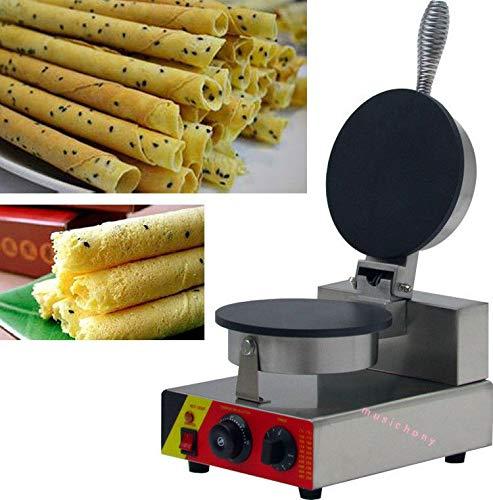 FidgetKute 110v/220v Nonstick Electric Egg Biscuit Roll Maker Machine Bake Machine NP-692