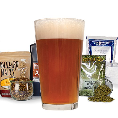 West Coast Radical Red Ale - Homebrew Beer Recipe Kit - Malt Extract, Ale (Beer Red Ale)