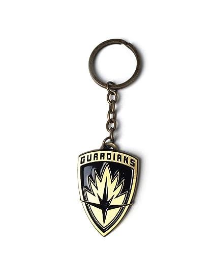 Amazon.com : Guardians of the Galaxy 2 Keyring - Shield Logo ...