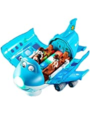 360° Rotating Electric Toy Plane,Rotating Stunt Children's Airplane Toy with Light,Good Partner for Children Over 3 Years Old