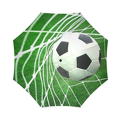 Popular Soccer Goal Net Football Field Folding Travel Umbrella