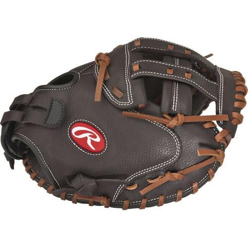 Rawlings Shut Outソフトボールグローブシリーズ B01H5D4A3CBrown Catcher's Mitt