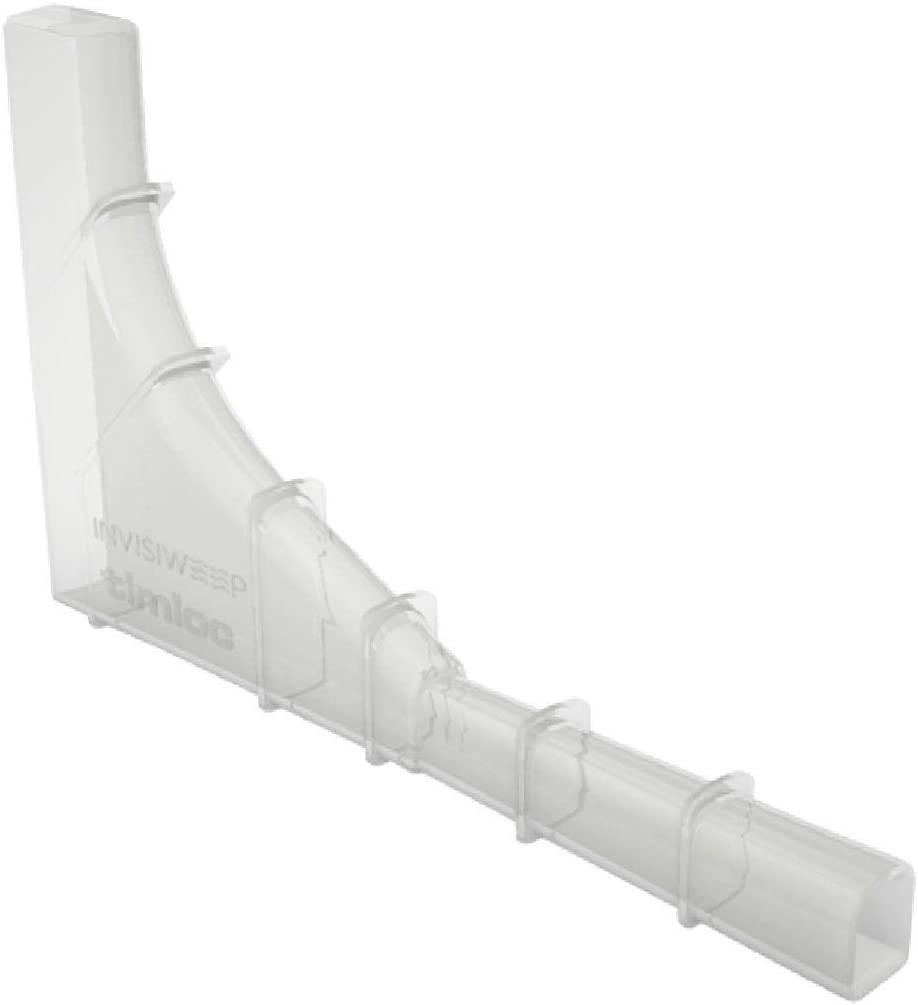 5 x Clear Brick Tunnel Weep Vents Low Profile Invisible Cavity Wall Water Outlet