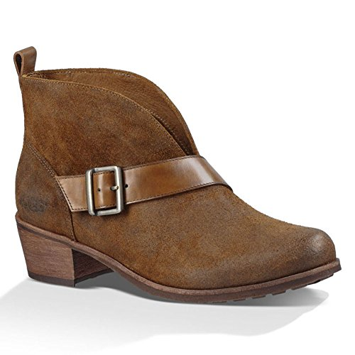 UGG Women's Wright Belted Chestnut Boot 6.5 B