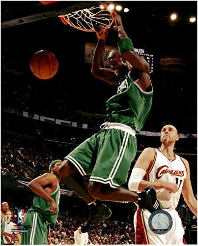 Unsigned Basketball (Kevin Garnett Boston Celtics Unsigned Licensed Basketball Photo)