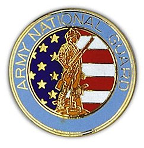 Army National Guard Large Pin (National Guard Lapel Pin)