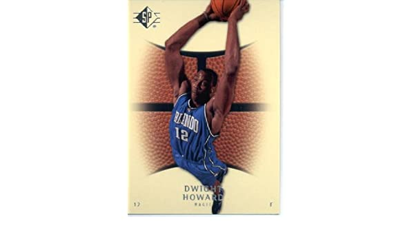 32edf8a68 2007 08 Upper Deck SP Authentic Retail Basketball Card  48 Dwight Howard  Orlando Magic at Amazon s Sports Collectibles Store