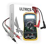 ULTRICS Digital LCD Multimeter Voltmeter Ammeter OHM AC DC Circuit...