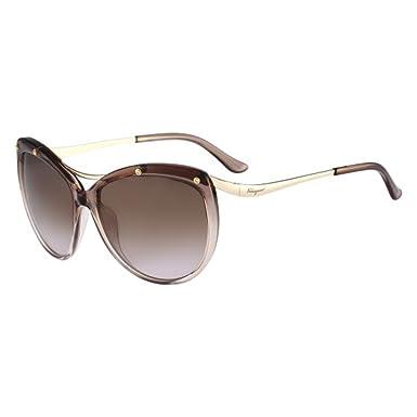 9e5914c77c7 Amazon.com  Salvatore Ferragamo Sunglasses SF714S 531 Mauve Gradient ...