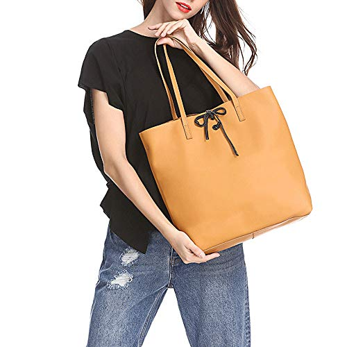 Single Capacity Shoulder Detachable Women Tote Leather Bags Female genuine Large Gaoqq Bag For B4qPawnX