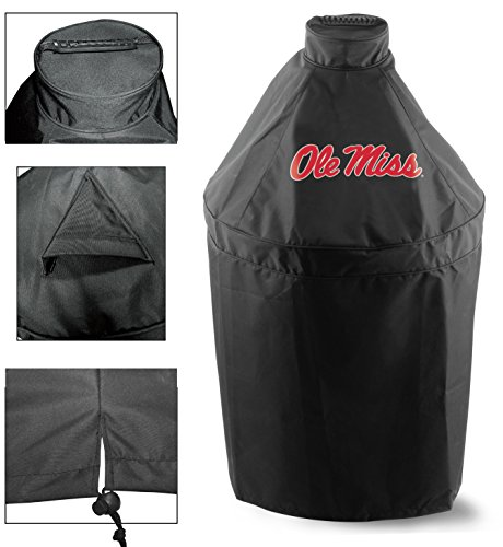 Holland Covers GC-K-MssppU Officially Licensed University of Mississippi Kamado Style Grill Cover ()