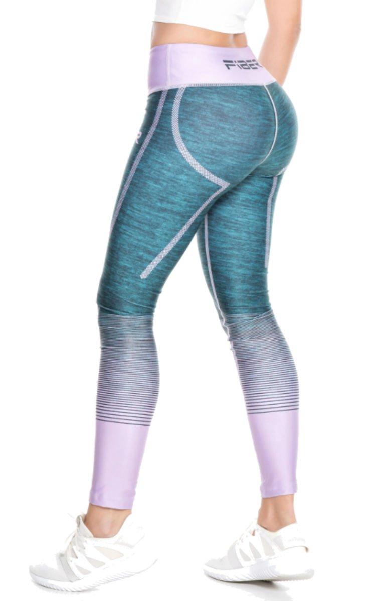 Fiber Sports Fiber (Many Styles) Crossfit Leggings Colombian Yoga Pants Compression Tights (UBK 13)