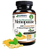 Daily Women's Support Menopause for Balanced Estrogen Level by Ecostream Naturals - with DIM and Dong-Quai - Vegetarian, Gluten Free - Made in The USA