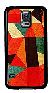 Samsung Galaxy S5 patterns abstract colors parallax 11 PC Custom Samsung Galaxy S5 Case Cover Black