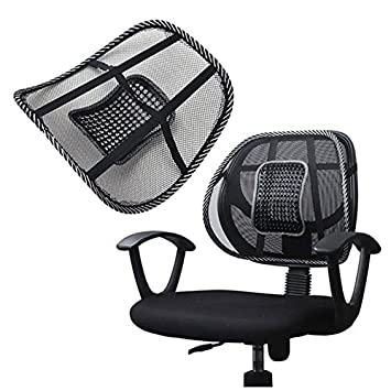 Super Comfort Mesh Lumbar Back Seat Sit Tight Support System Pain