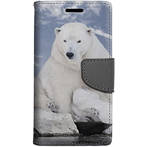 Samsung Galaxy S7 Wallet Case - Polar Bear on Rocks Case Sales