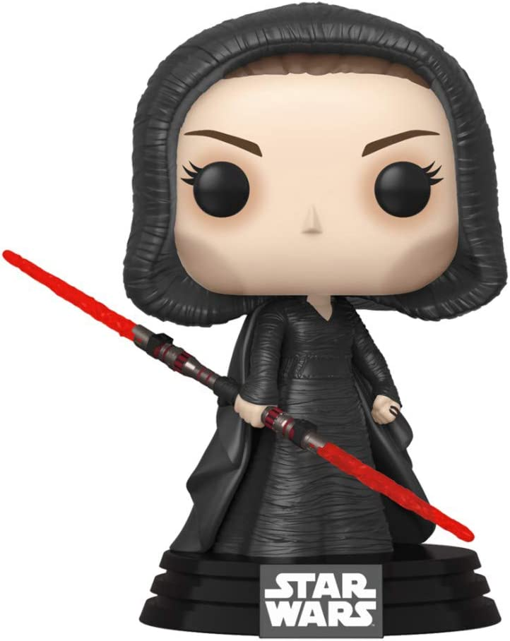 Amazon Com Funko Pop Star Wars Rise Of The Skywalker Dark Rey Multicolor 3 75 Inches 47989 Dark Rey Toys Games