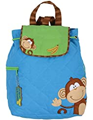 Monkey Quilted Backpack from Stephen Joseph