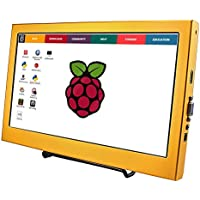 SANGCO HD Screen Monitor 11.6 Inch 1920×1080 HDMI LCD Screen Display for PS3 PS4 WiiU Xbox360 for Raspberry Pi B+/2B/3B Windows 7/8/10 (Gold)