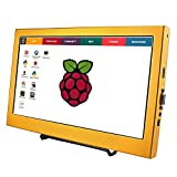 SANGCO HD Screen Monitor 11.6 Inch 1920×1080 HDMI LCD Screen Display for PS3 PS4 WiiU Xbox360 for Raspberry Pi B+/2B/3B Windows 7/8/10 (Gold)