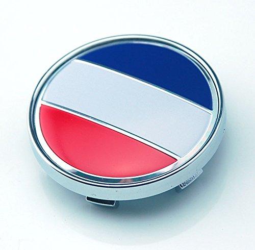 4pcs W147 60mm Emblem Badge Sticker Wheel Hub Caps Center Cover Flag FRANCE PEUGEOT CITROEN Renault