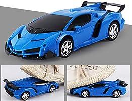 Kastma RC Transformer Robot Car Remote Controlled Transformers Auto /& Robot Transformable One-Touch Transforming