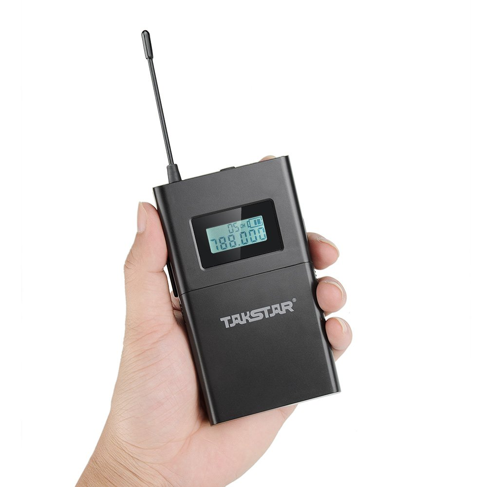 Takstar WPM-200 In Ear Stage UHF Wireless Monitor System for studio recording/on-stage monitoring (1 transmitter and 1 receiver) by TAKSTAR (Image #5)