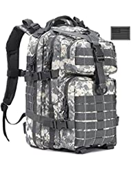 Military Tactical Backpack Molle Assault Pack Army Bug Out Bag Backpacks ACU