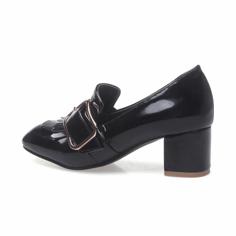 Mee Shoes Women's Lovely Mid Heel Block Heel Court Shoes: Amazon.co.uk:  Shoes & Bags