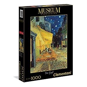 Clementoni 31470 Museum Collection Puzzle Van Gogh Esterno Di Caff Di Notte 1000 Pezzi
