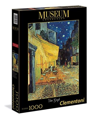 Clementoni Museum Collection Puzzle 1000 Pezzi Van Gogh Terrazza Del Caffe Di Sera