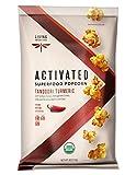 Living Intentions Activated Superfood Popcorn, Gluten Free, Vegan, Organic, Tandoori Turmeric, 4 Ounce
