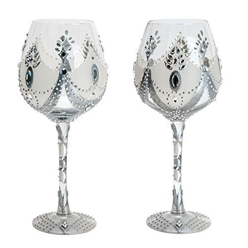 Soiree Red Wine Glass by Lolita Home Collection