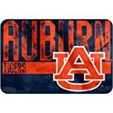 NCAA Auburn Tigers ''Worn Out'' Bath Mat, 20'' x 30''