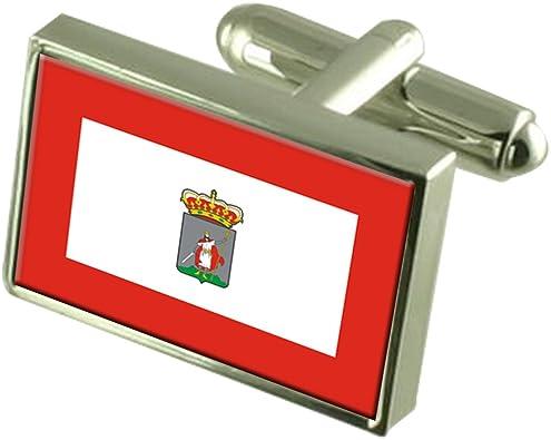 Select Gifts Ciudad Gijón Gemelos Bandera España Cuadro Grabado: Amazon.es: Joyería