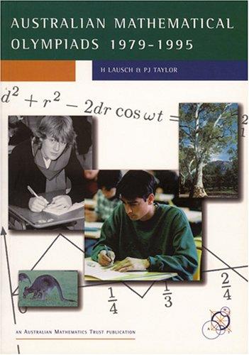 Australian Mathematical Olympiads 1979-1995