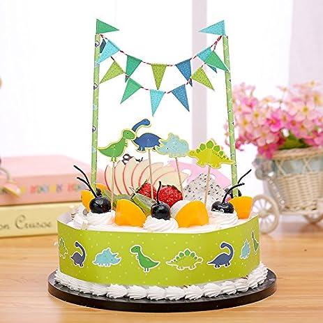 Amazoncom Gift Prod 2 Pcs Mini Happy Birthday Cake Bunting