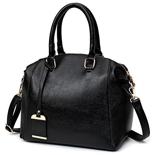 Sweet Lady GWQGZ Lady Handbag Black Gules aCZH8O8xwq