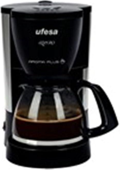 Ufesa CG7226, Negro, 0.9 m, 1080 W, 220 - 240 MB/s, 50/60 Hz, 210 x 165 x 260 mm - Máquina de café: Amazon.es: Hogar