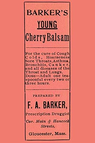 A quack medicine label from the balsam for the cure of cough colds hoarseness sore throats asthma bronchitis canker and all the diseases of the throat and lungs Poster Print by unknown (18 x 24) (Best Cure For Cough)